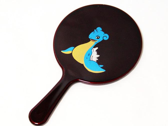 仙台蒔絵ラプラス手鏡(玉虫塗)
